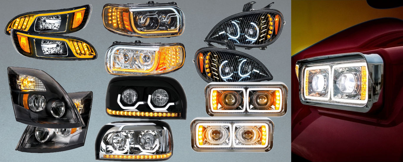 Bright Headlights for all Big Rigs