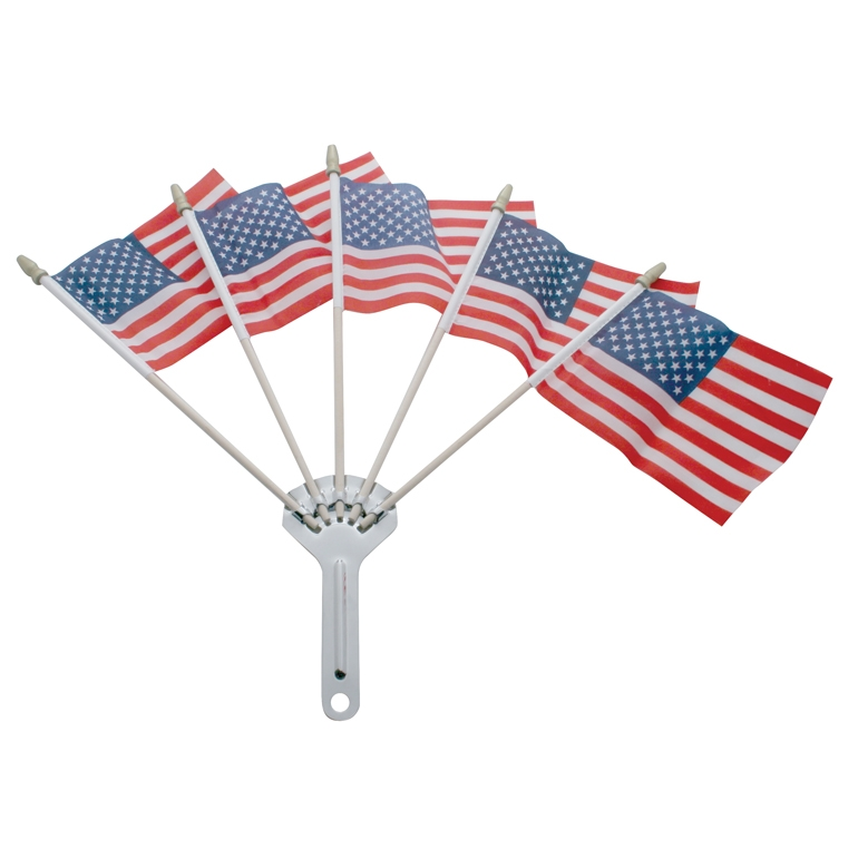 Stainless Steel 5-Post Flag Holder
