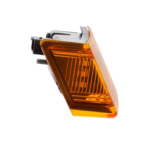 6 LED Amber Turn Signal Light for 2018+ Freightliner Cascadia - Driver
