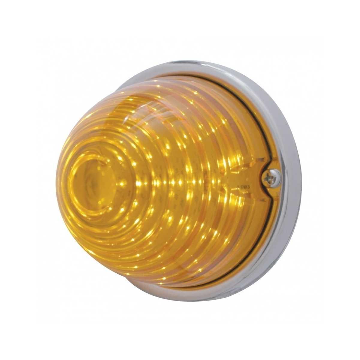 17 LED Watermelon Flush Mount Kit Amber LED//Amber Lens