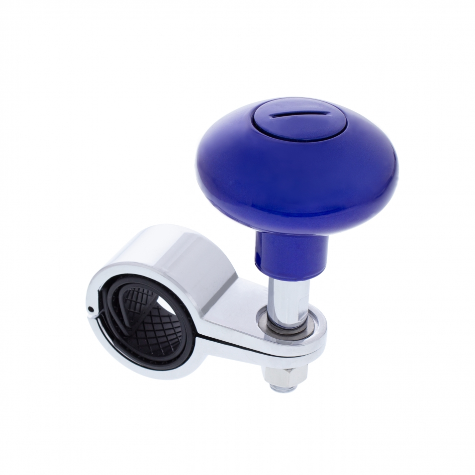 Heavy Duty Steering Wheel Spinner - Indigo Blue
