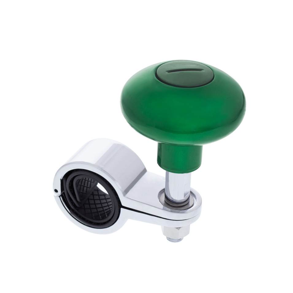 Heavy Duty Steering Wheel Spinner - Emerald Green