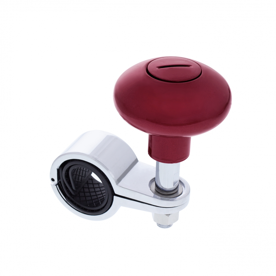 Heavy Duty Steering Wheel Spinner - Candy Red